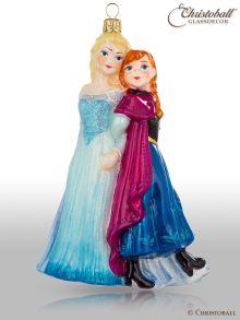 "Walt Disney Kollektion - Christbaumform Frozen ""Anna & Elsa"""