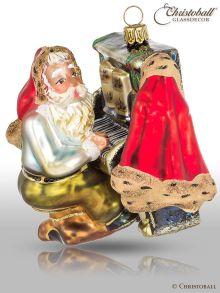 Weihnachtsform - Weihnachtsmann am Klavier