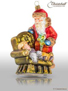 Mostowski Collection - Weihnachtsmann in Sessel - viktorianisch