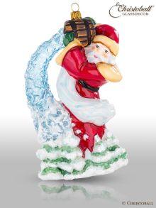 Mostowski Collection - Weihnachtsmann mit einem Eimer voller Eissterne