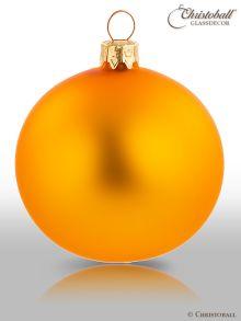 Christbaumkugel orange