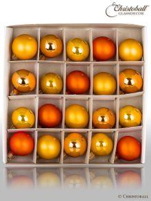 Weihnachtskugeln Pure Colour Minis Sunny Orange