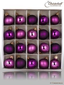 Pure Colour Minis - Pflaumen Violet Aubergine Töne