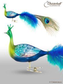 Pfau XL, Vogel mit Clip
