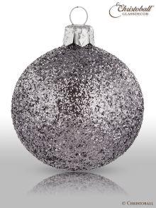 Weihnachtskugeln Pure Glamour 6er / Anthrazit Glam
