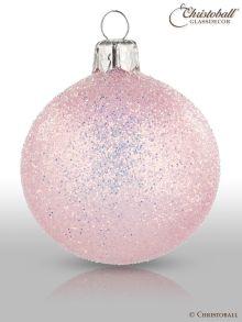 Weihnachtskugeln Pure Glamour 6er / Blossom-Rosa Glam