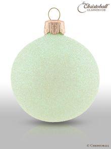 Weihnachtskugeln Pure Glamour 6er / Flamingo-Apricot Glam