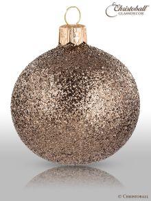 Weihnachtskugeln Pure Glamour 6er / Greige Glam