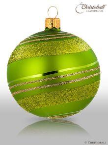 Pirouette Weihnachtskugel Mai-Grün