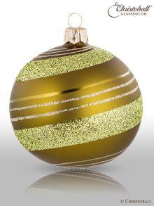 Pirouette Weihnachtskugeln Olivgrün