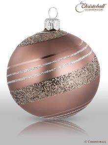 Pirouette Weihnachtskugel Smoky-Braun