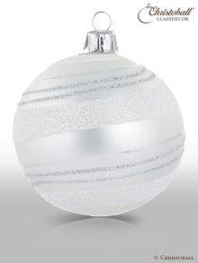 Pirouette Weihnachtskugel Perlenschimmer