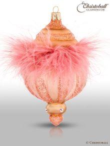 Crystalique - Pudre de Luxe - Christbaumform, Flamingo-Apricot