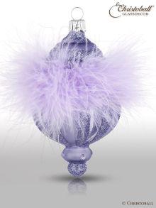 Crystalique - Pudre de Luxe - Christbaumform, Lavendel-Lila,