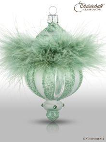 Crystalique - Pudre de Luxe - Christbaumform, Grün-Mint