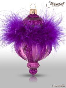 Pudre de Luxe - Christbaumform, Pflaumen-Violet