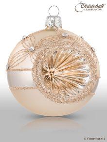 Reflex Weihnachtskugel Champagne