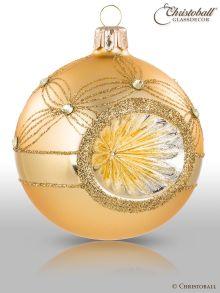 Reflex Weihnachtskugel Gold