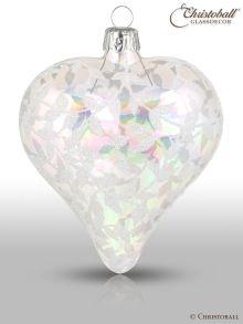Romeo & Julia Weihnachtsform Herz Irisierend