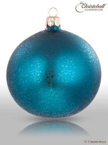 Speckle Gleam XL Petrol Blau