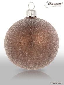 Stardust Weihnachtskugel Smoky-Braun