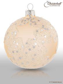Stars & Sternchen Christbaumkugeln Champagne