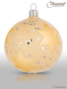 Stars & Sternchen Christbaumkugeln Gold