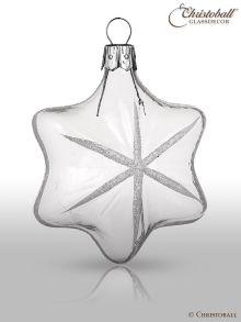 Weihnachtsform Stern Kristallklar
