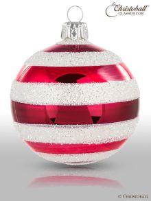 Stripes Weihnachtskugeln Berghüttenzauber
