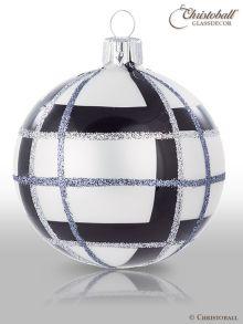 Tartan & Karo Weihnachtskugeln Modern-Style