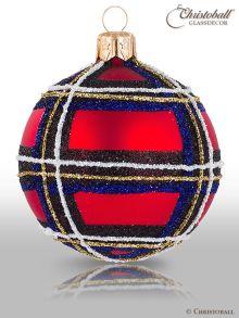 Tartan & Karo Weihnachtskugeln Royal Stewart