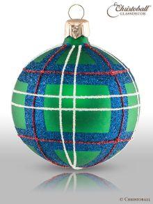 Tartan & Karo Weihnachtskugeln Sutherland Style
